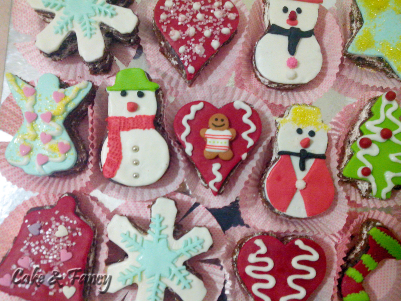 Dolcetti natale varie forme