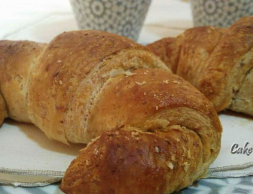 Cornetti integrali senza uova e burro