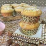 Muffin mandorle cioccolato