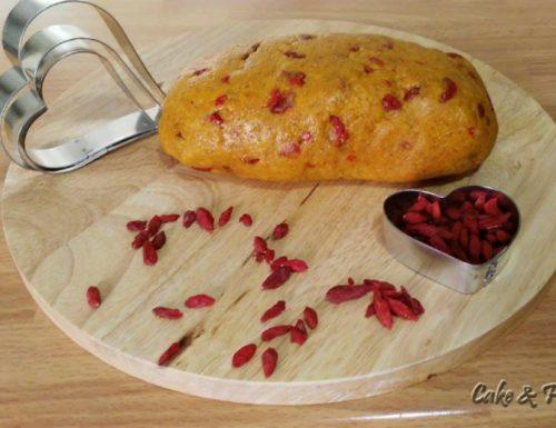 Pasta frolla integrale e bacche di goji