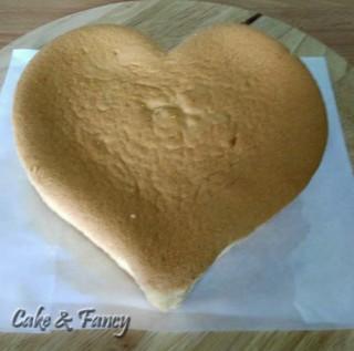 pan di spagna cuore