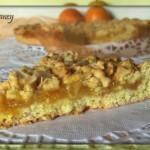 Torta sbriciolata arancia e mandorle