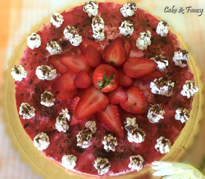 cheesecake fragole light