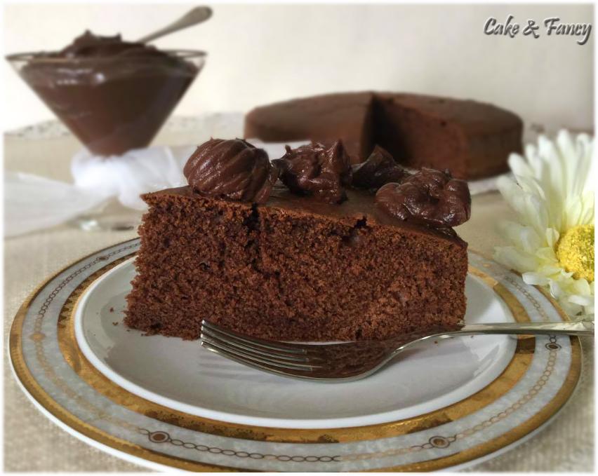Torta soffice al cioccolato C.& F.