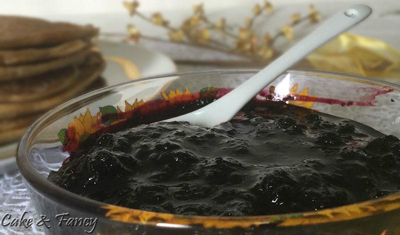 Salsa ai mirtilli