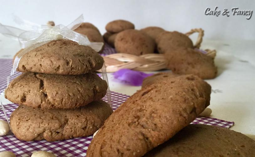 Biscotti integrali senza lattosio