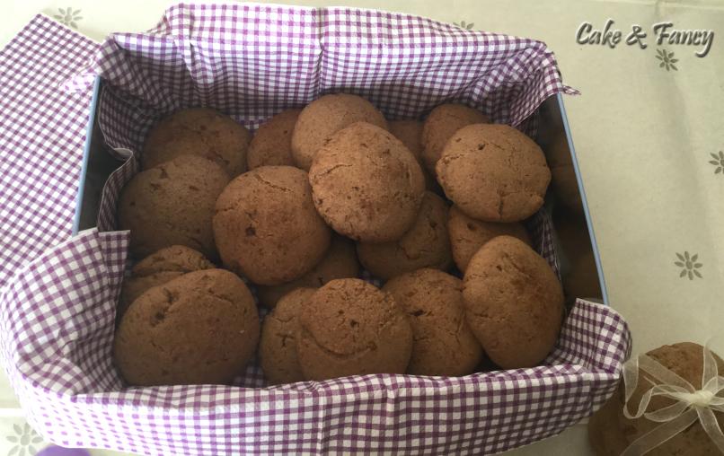Biscotti senza lattosio cake & fancy