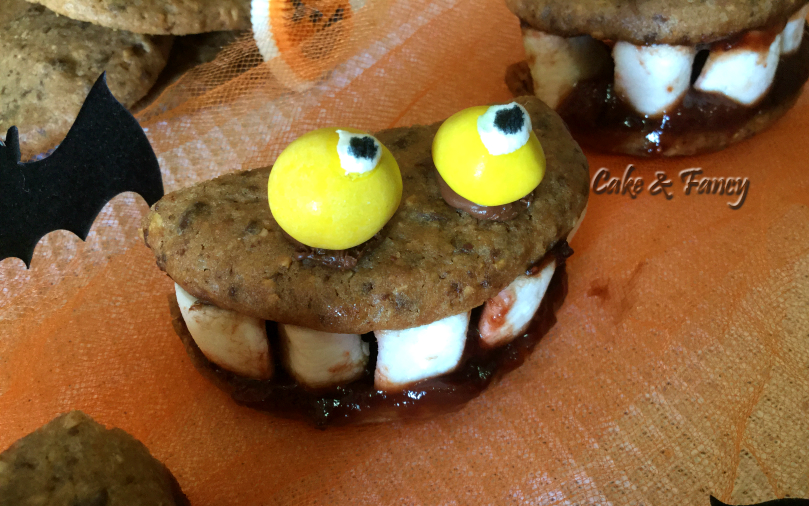 Biscotti-nocciole-halloween