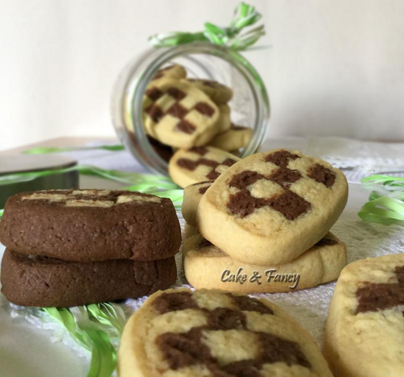 Biscotti rustici scacchiera