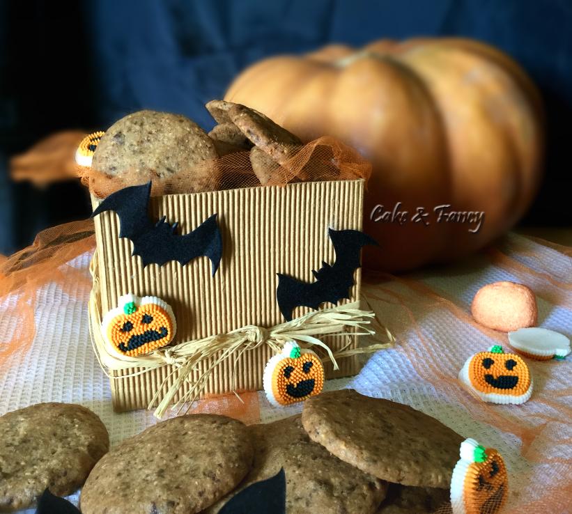 Halloween- biscotti