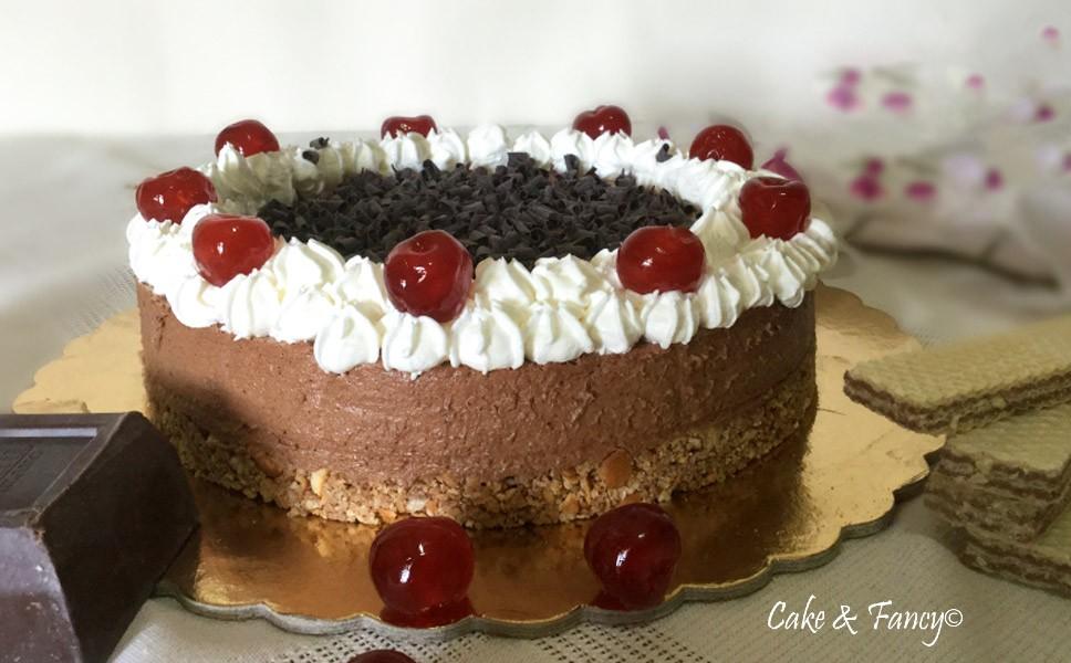 Torta fredda cioccolato