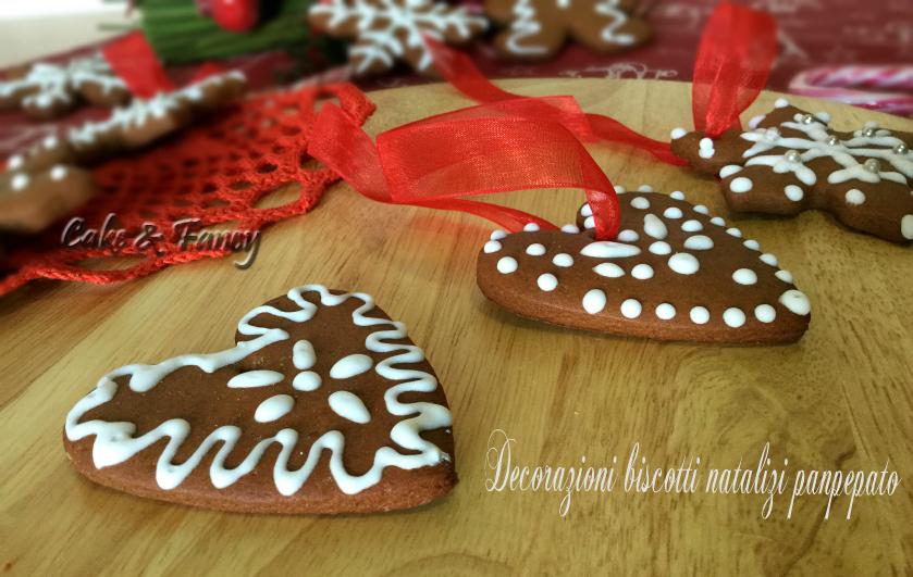 Biscotti natalizi panpepato - decorazioni albero