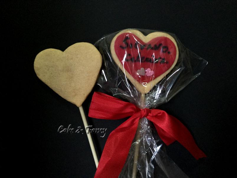 Biscotti frolla San Valentino