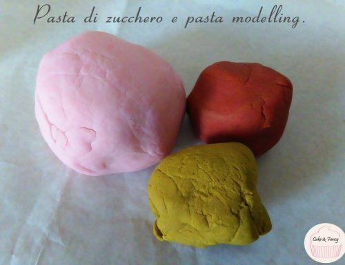 La Pasta di Zucchero e pasta modelling