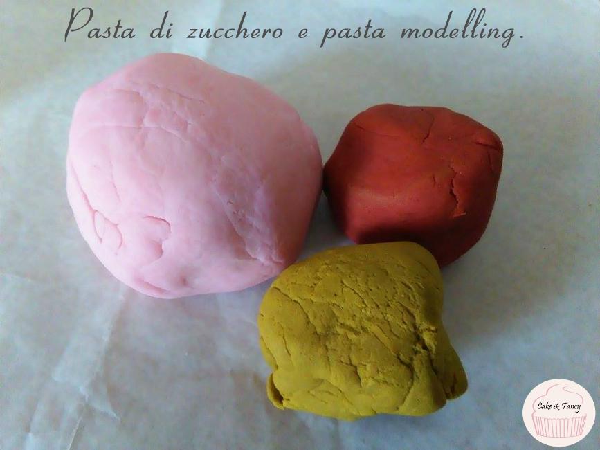Pasta di zucchero e pasta modelling