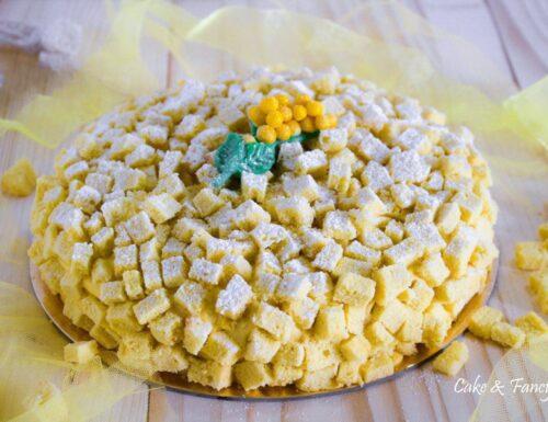 Torta mimosa ricetta classica con crema diplomatica