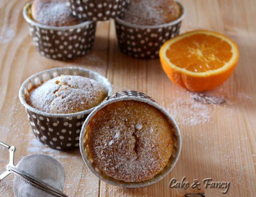 """Muffin all'arancia senza burro """"ricetta veloce"""""""