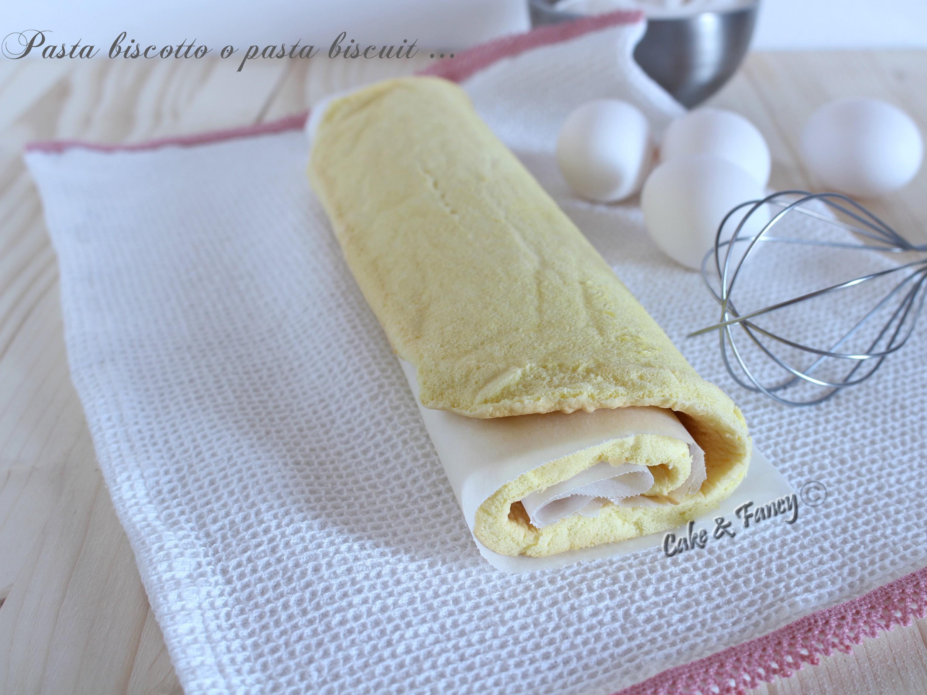 Pasta biscotto o pasta biscuit