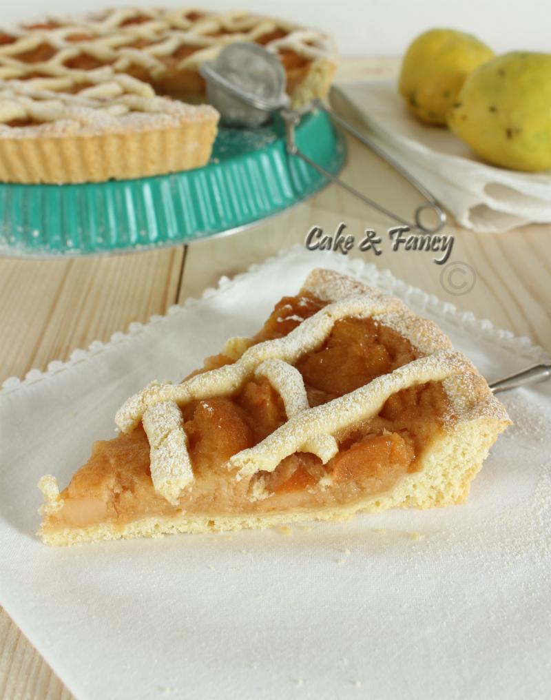 Crostata di mele cotogne ricetta semplice