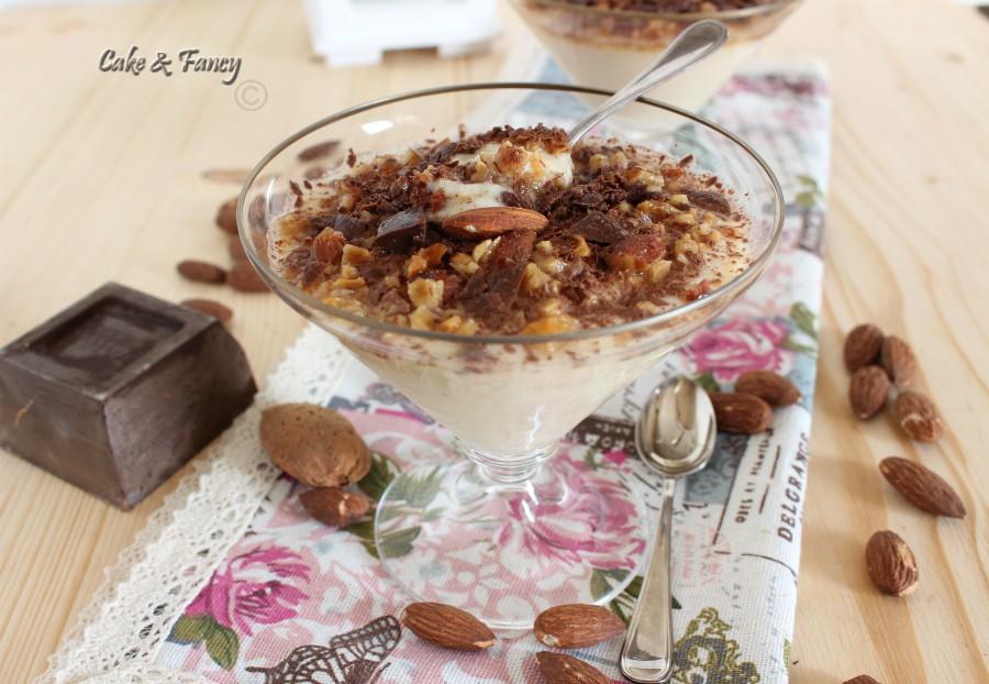 mousse di pere con yogurt e vaniglia