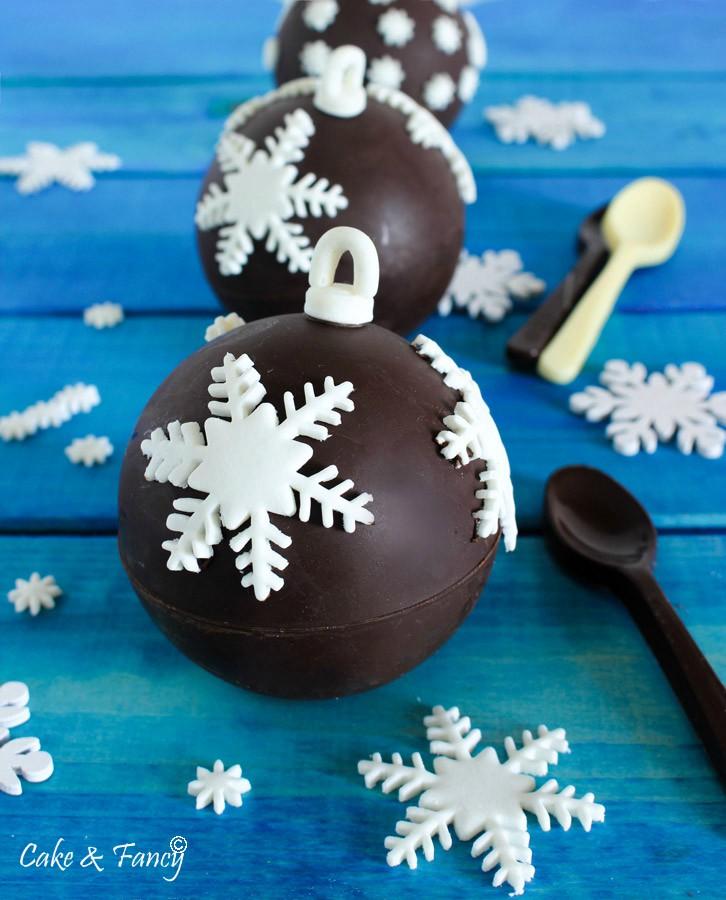 Palline di cioccolato ripiene