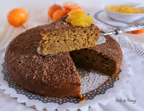 Torta al mandarino e cioccolato
