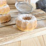 Ciambelline soffici  alla vaniglia