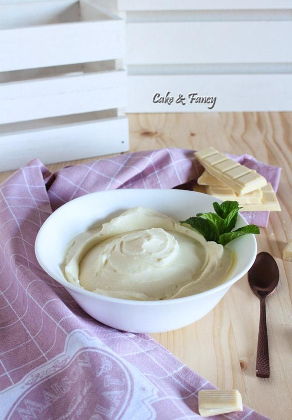 crema al cioccolato bianco