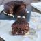 Torta tartufata cioccolato fondente e mandorle
