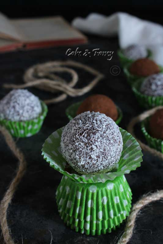 Palline di cioccolato senza glutine