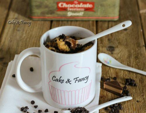 Mug cake yogurt e cioccolato