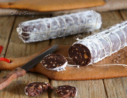 Salame di cioccolato e tagliere di pasta