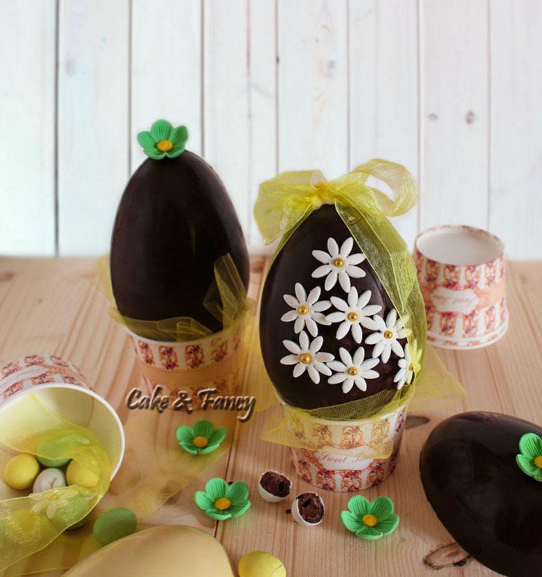 Uovo di Pasqua cioccolato fondente