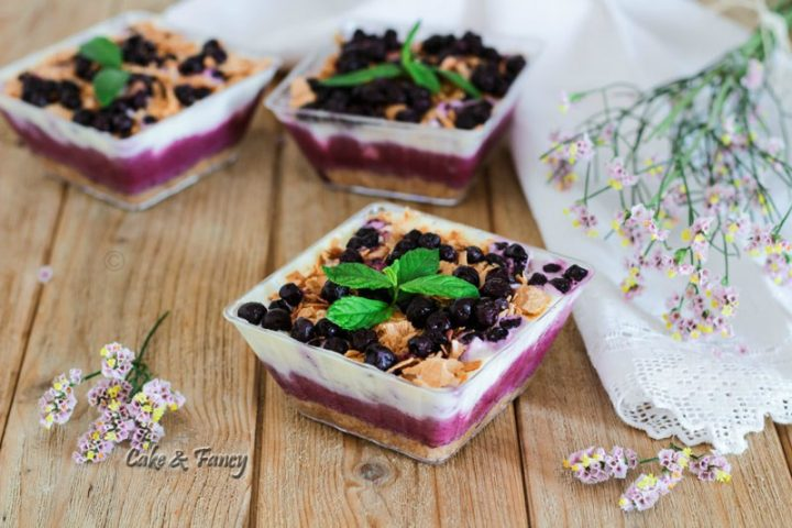 Cheesecake monoporzione