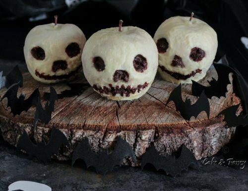 Teschi Halloween di mele