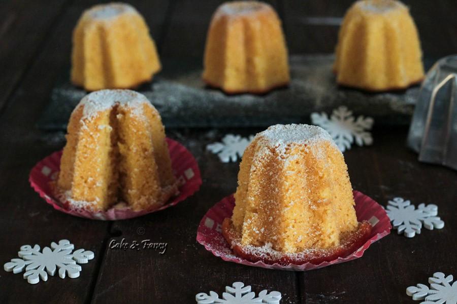 Pandorini di chiffon cake