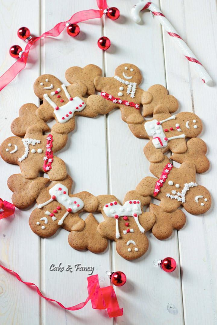 Corona di biscotti