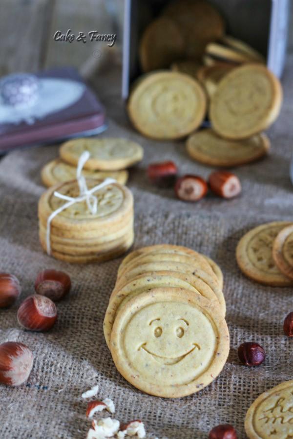 Biscotti di frolla alle nocciole