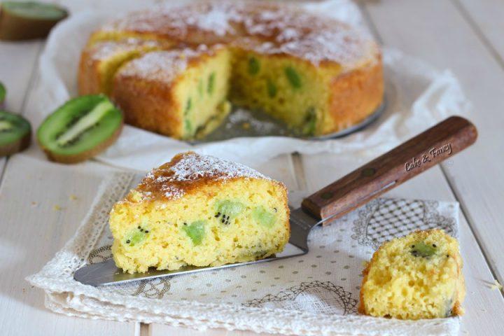 Torta kiwi e yogurt