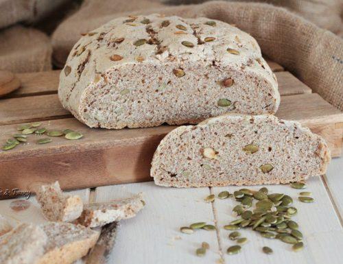 Pane ai semi di zucca integrale