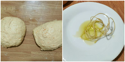 Preparazione pane
