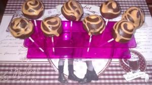 cake pops al cioccolato e arancia
