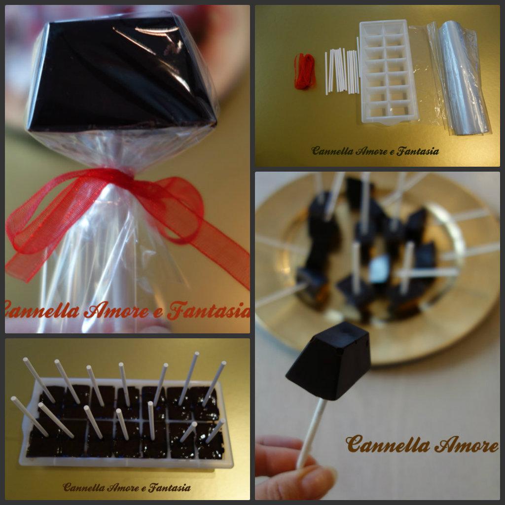Collage cioccolattini natalizi
