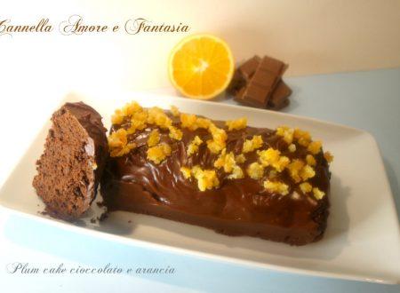 Il Plumcake cioccolato e arancia facile e goloso