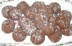 biscotti farro cacao e mandorle