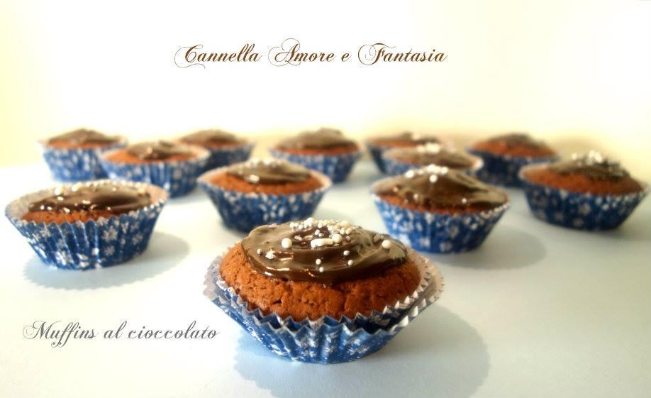 muffins al cioccolato la giusta