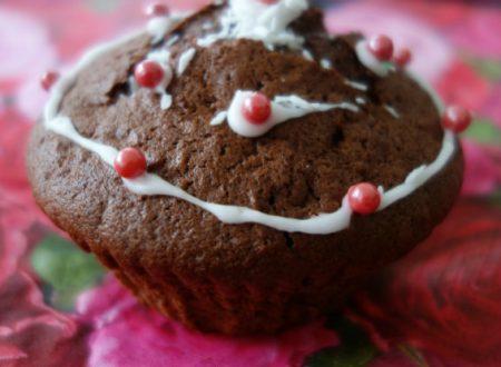 Muffins al doppio cioccolato e cocco
