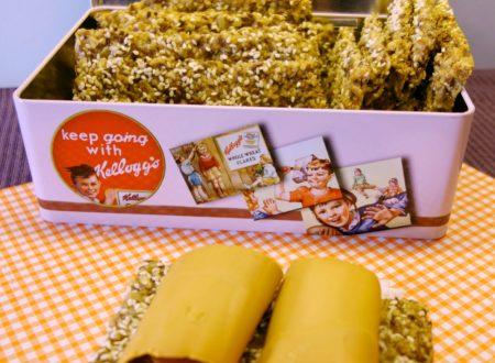 I crackers al sesamo fatti in casa ricetta tipica Norvegese