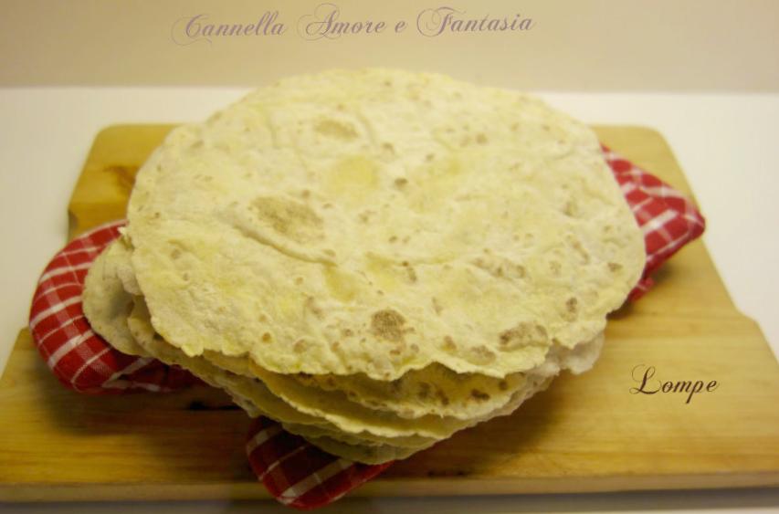 Piadina di patate o hjemmelaget potetlefser