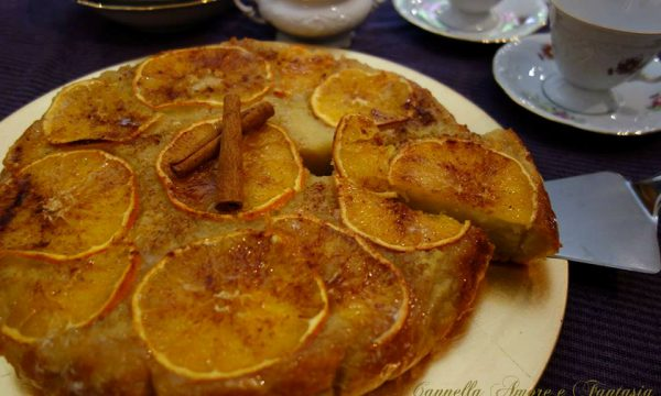 La torta di riso miele e arancia ricetta della nonna